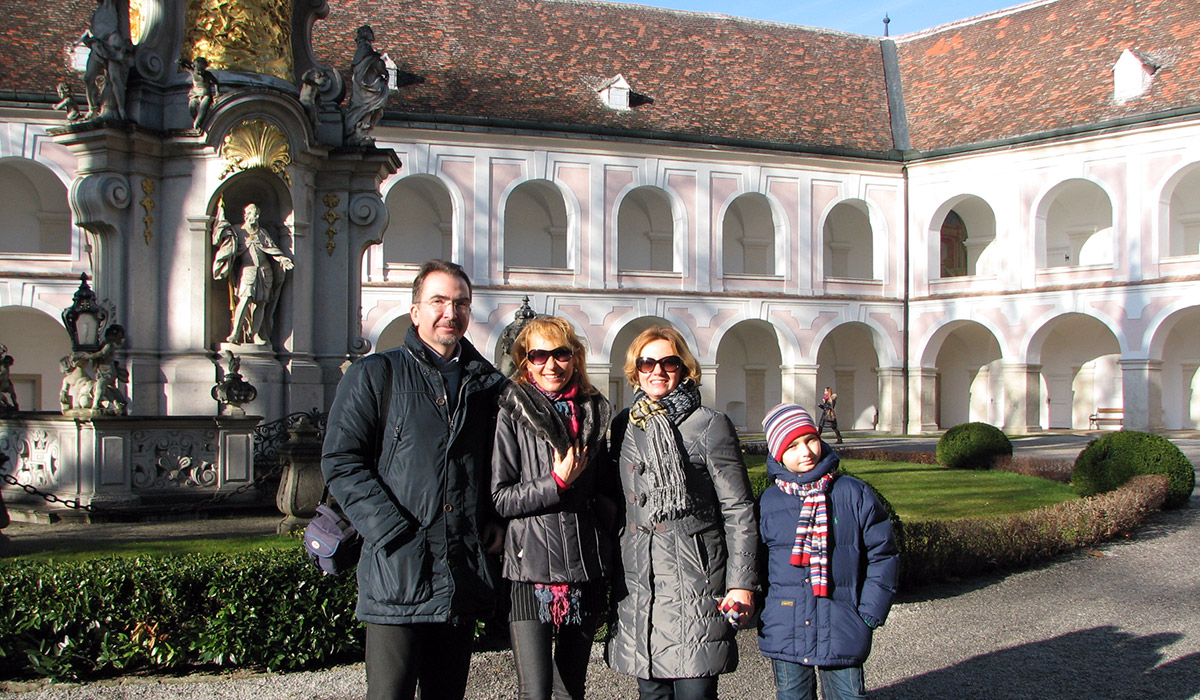 Familie Gulyi in Heiligenkreuz