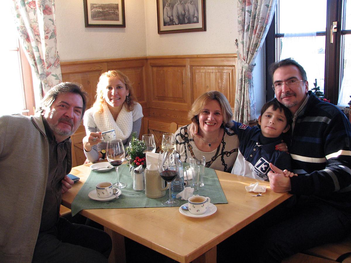 Наши гости ценят австрийскую кухню и местные вина