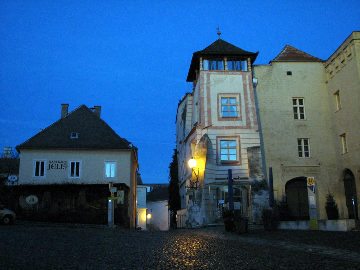 Уголок средневекового Кремса