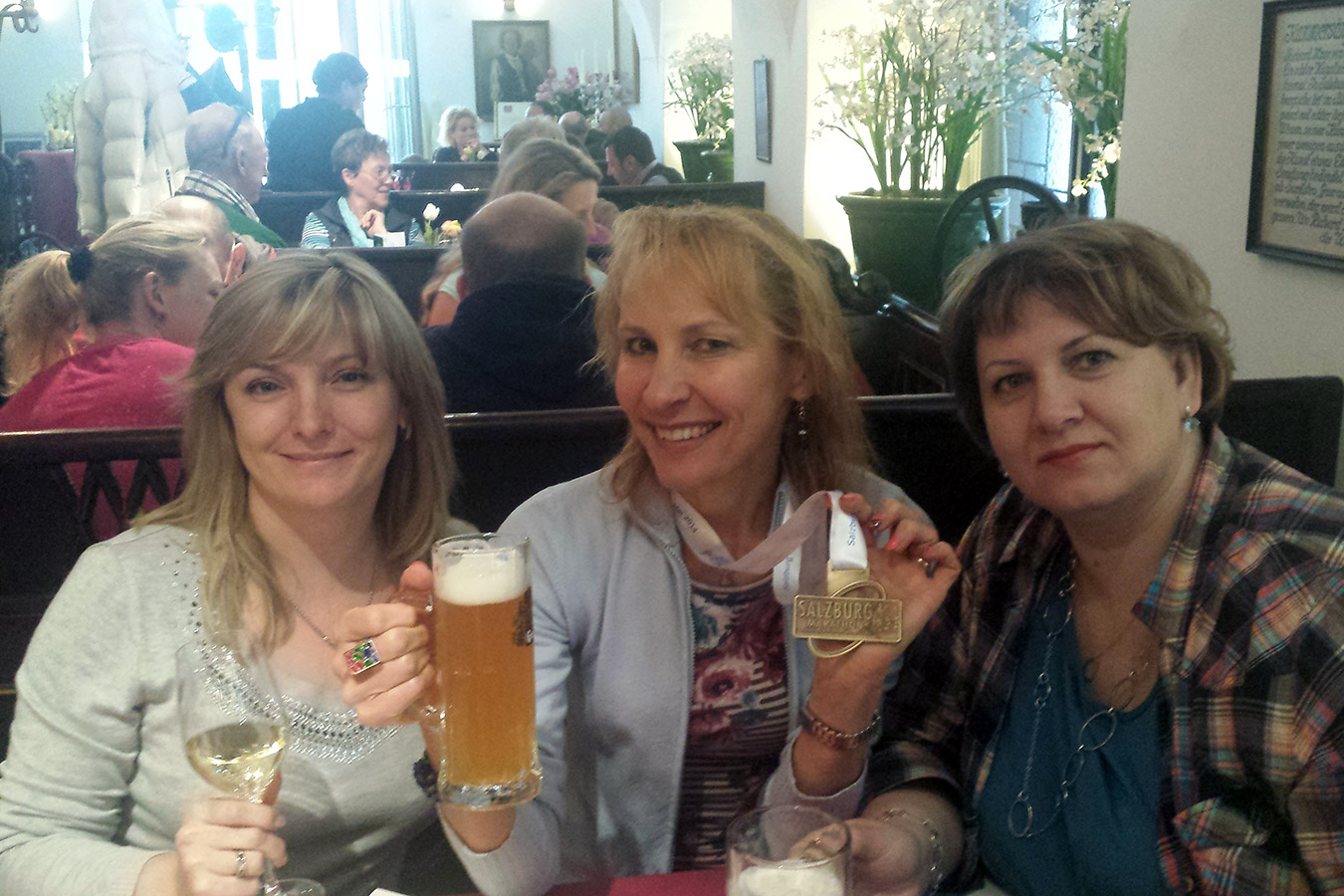 В типичном австрийском ресторане