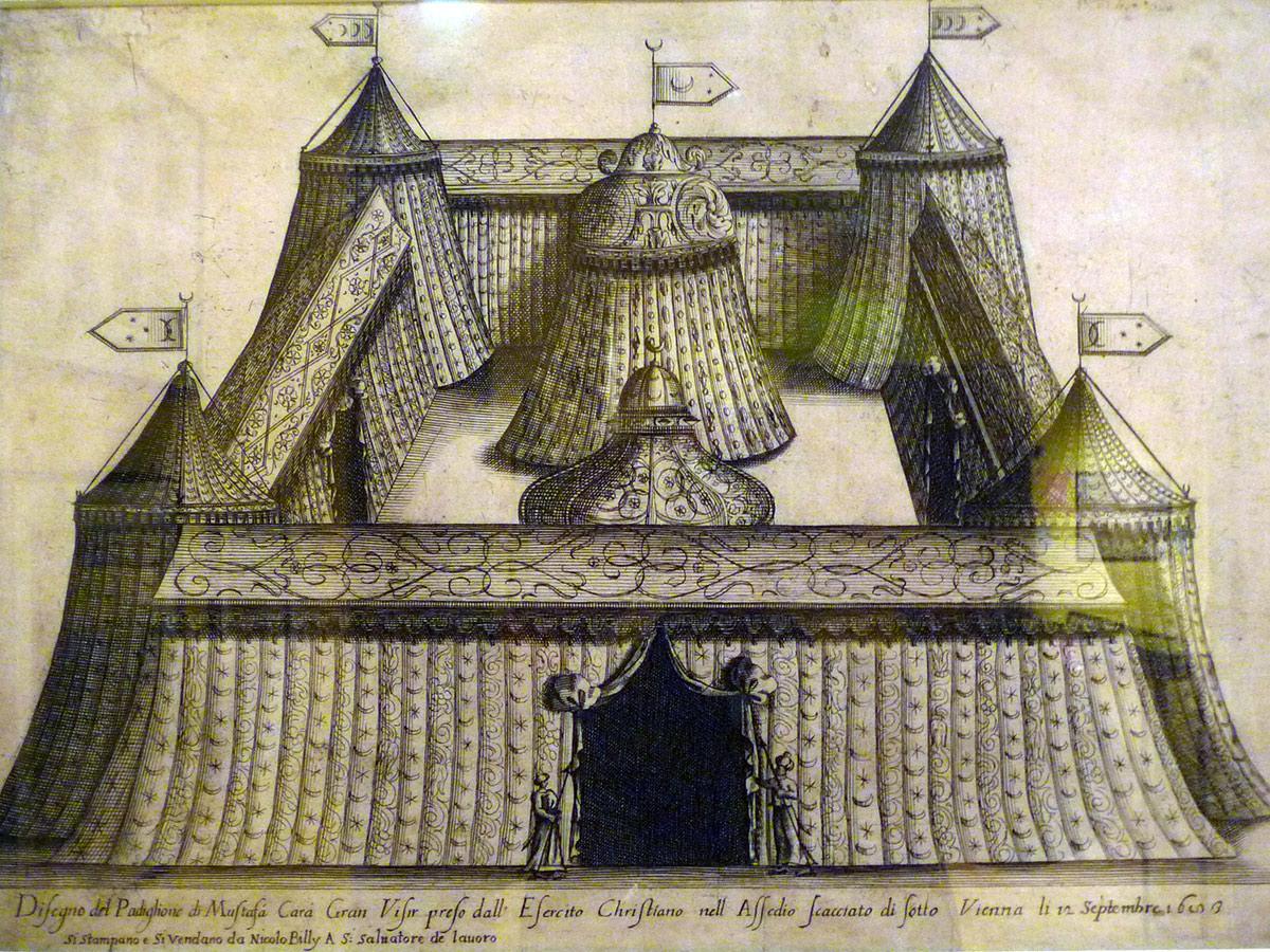 Роскошный шатер Султана, Венский музей
