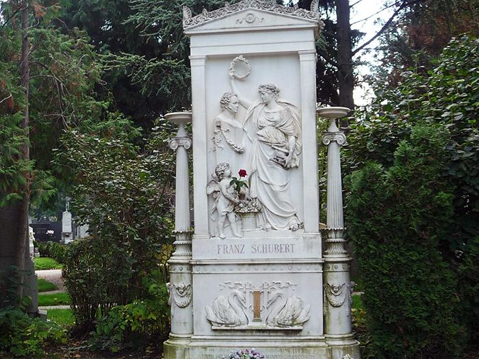 Почетное захоронение Франца Шуберта