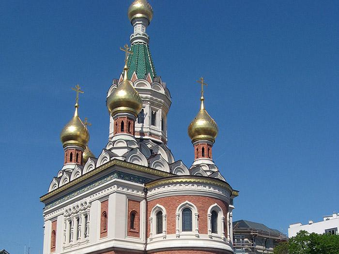 Русская православная церковь в третьем районе Вены