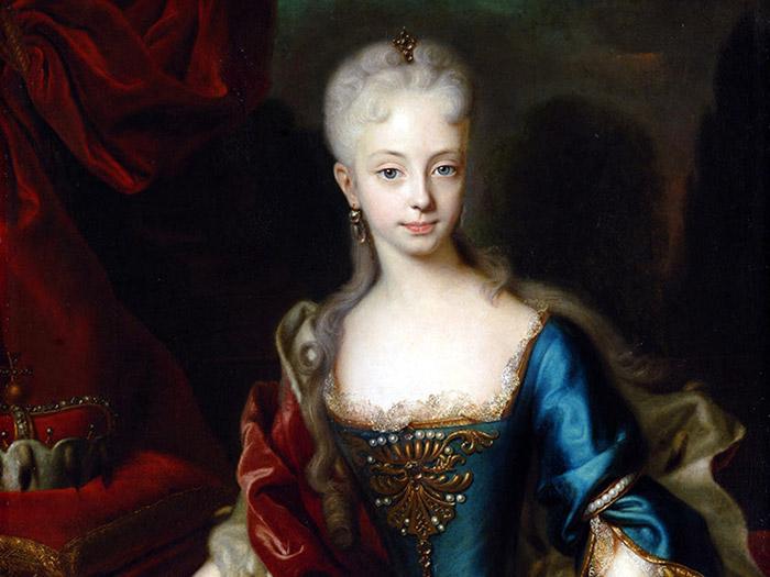 Великая княгиня Мария Терезия в юном возрасте