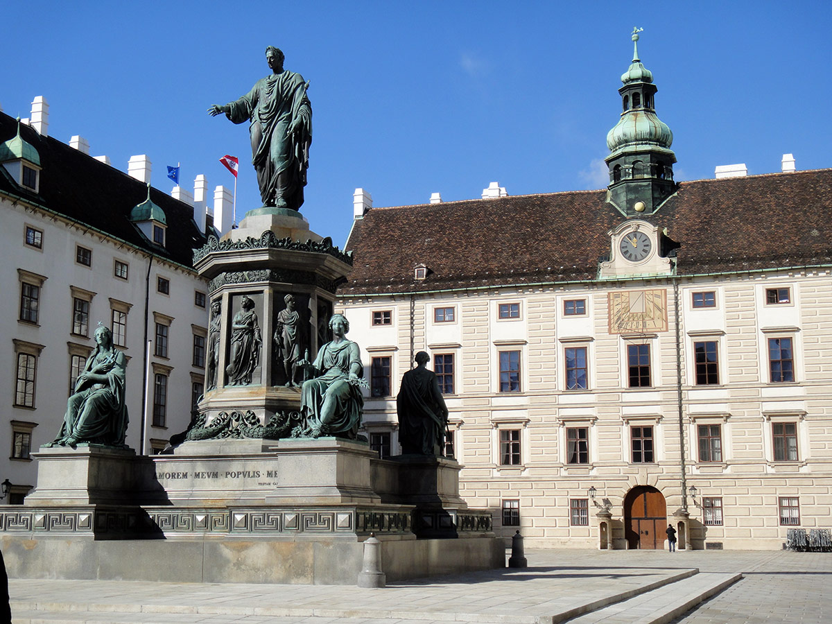 Monument to Franz I (II) at Hofburg