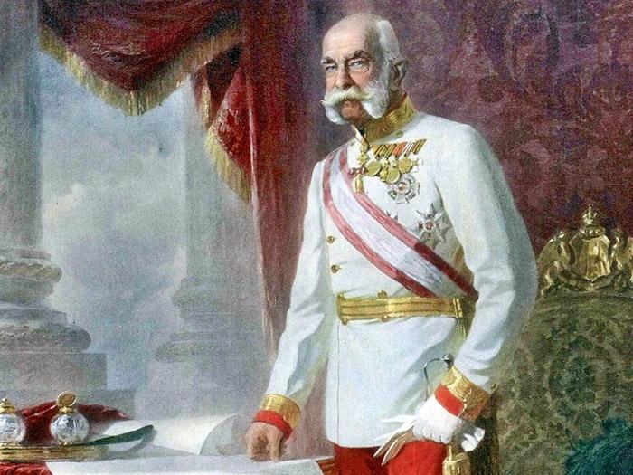Поздний портрет императора