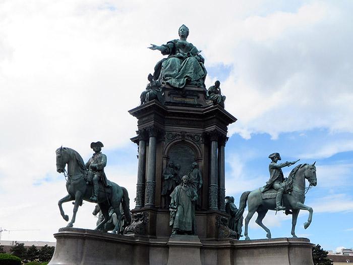 Рингштрассе Памятник Марии Терезии