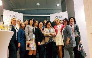 Прием с презентацией в компании ЦИРО (CIRO)