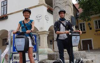 Тур на сегвеях в Гуьпольдскирхен (Gumpoldskirchen)
