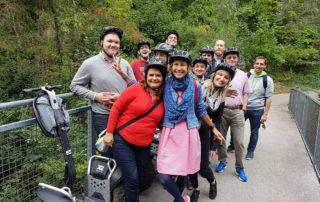 Тур на сегвеях в окрестностях Вены.