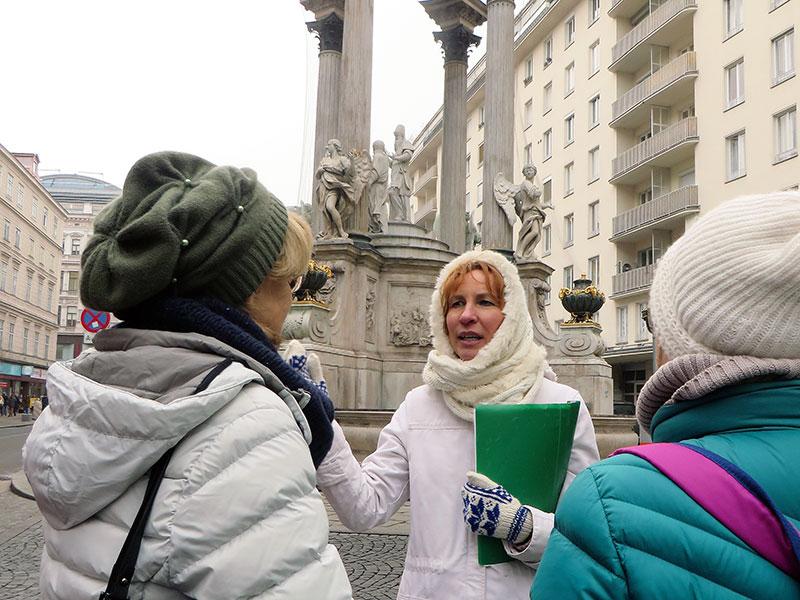 Beim Vermählungsbrunnen am Hohen Markt