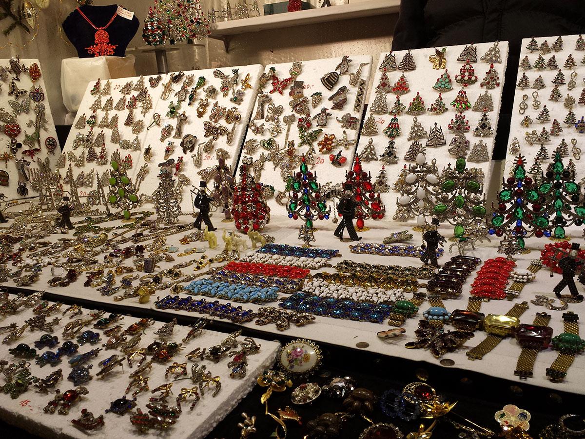 На венском Рождественском рынке.