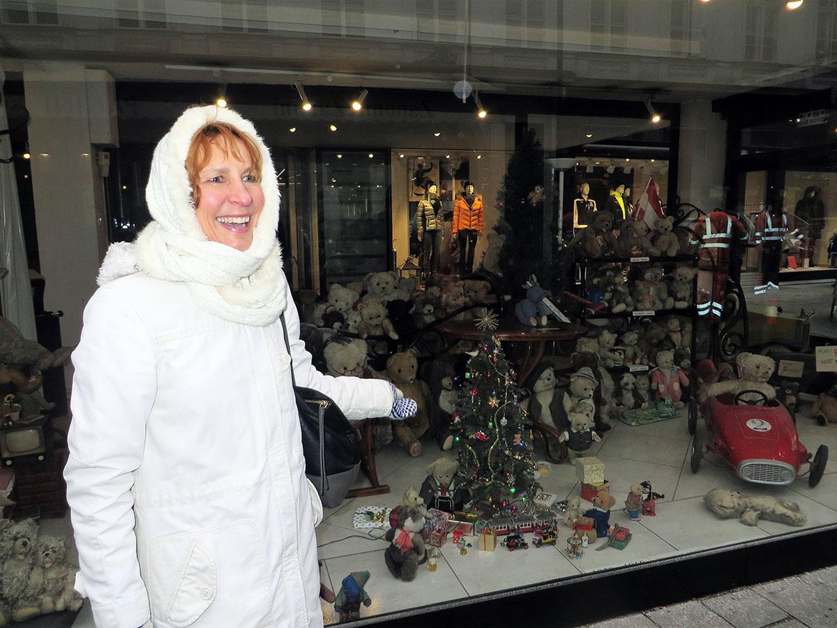 Венские рождественские витрины