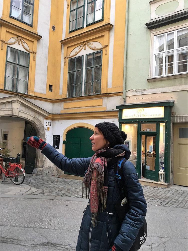 Зимняя пешеходная экскурсия.