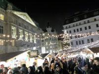 Рождественский рынок на Площади Ам Хоф (Am Hof).