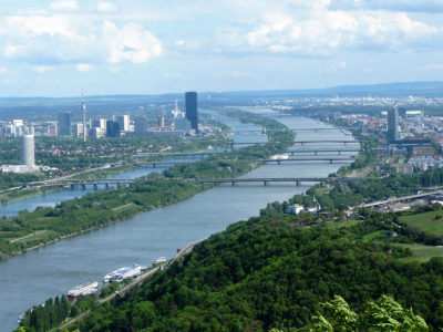 View of the Danube from Kahlenberg