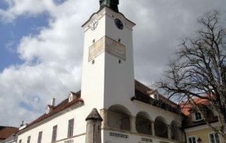 City Hall of Gumpoldskirchen.