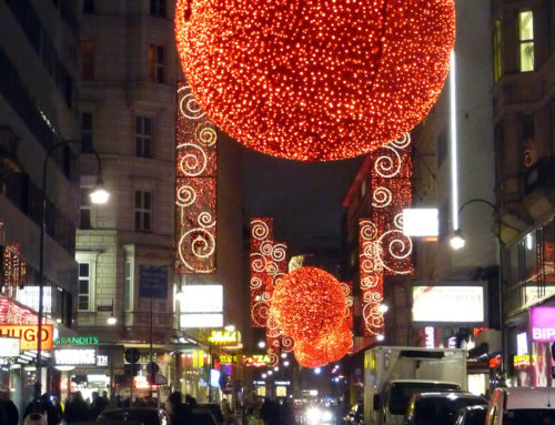 Christmas season in Vienna