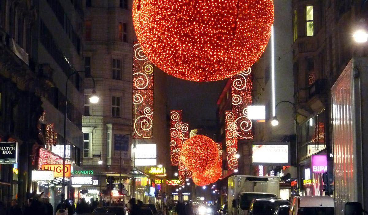 Wien in der Vorweihnachtszeit