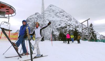 Зимние мотивы в Австрийских Альпах