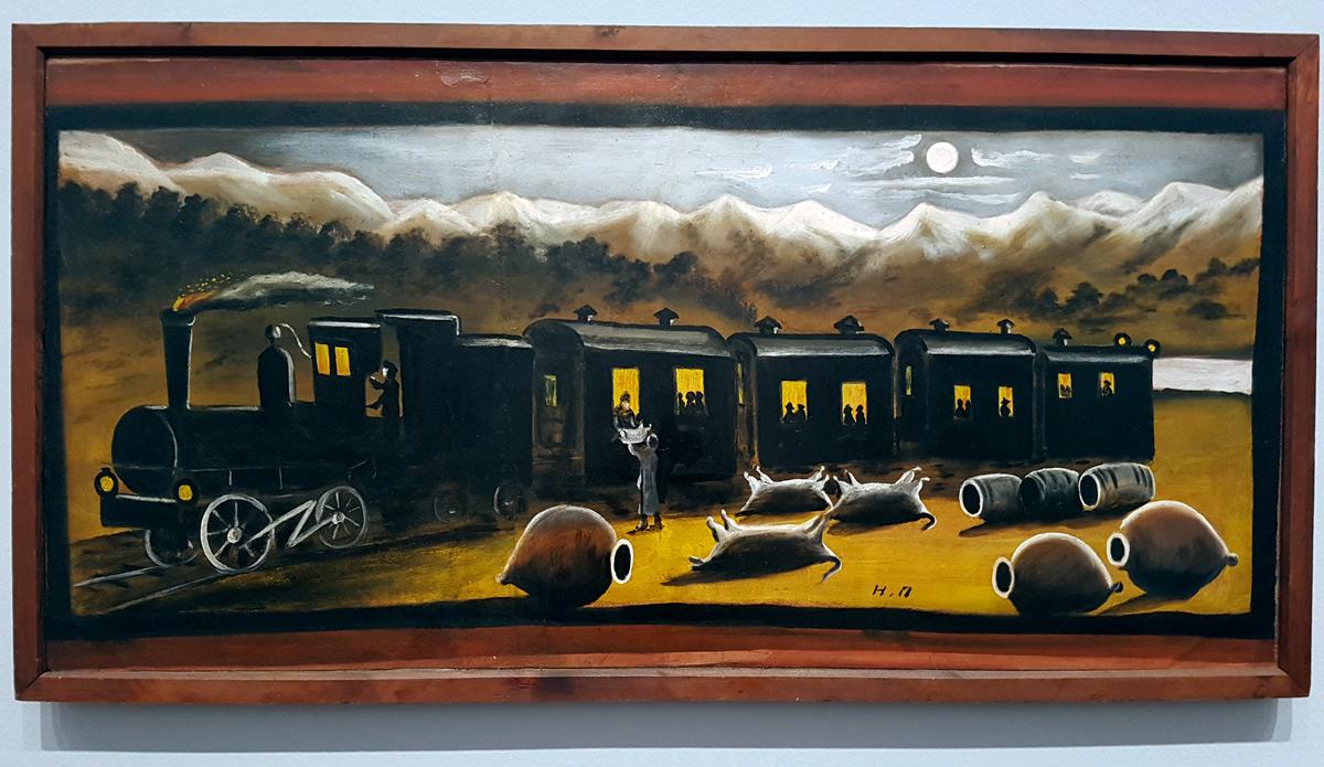 Кахетинский поезд