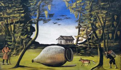 Выставка Пиросмани в Альбертине